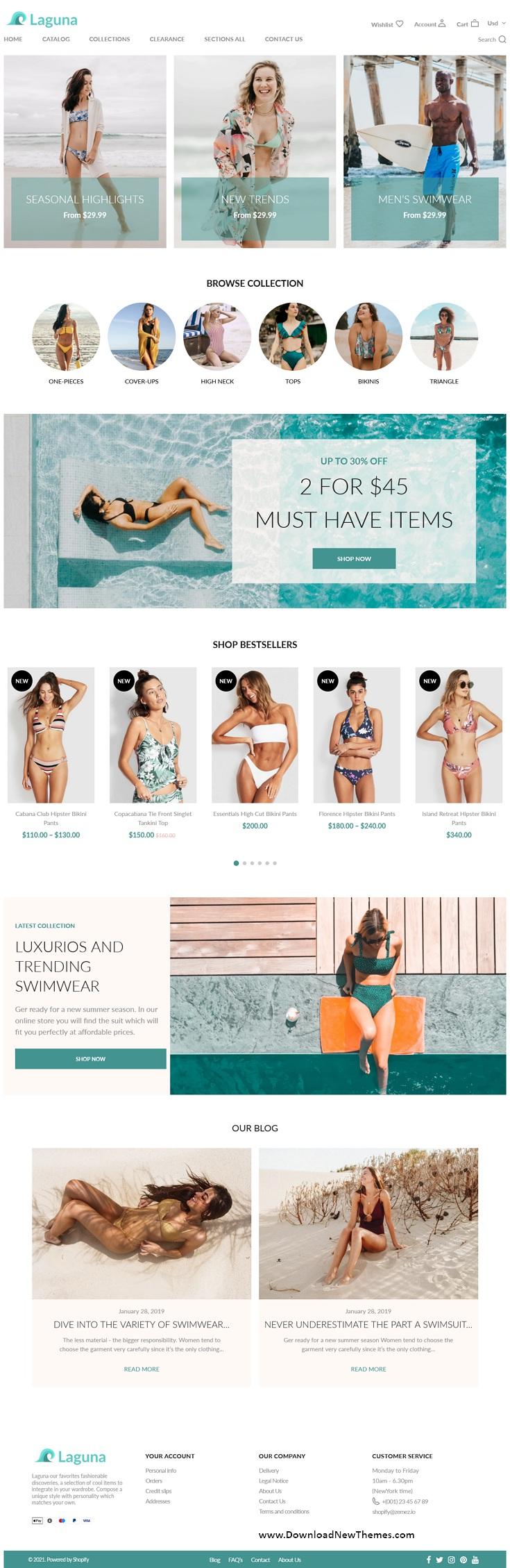 Swimwear Store Premium Shopify Theme