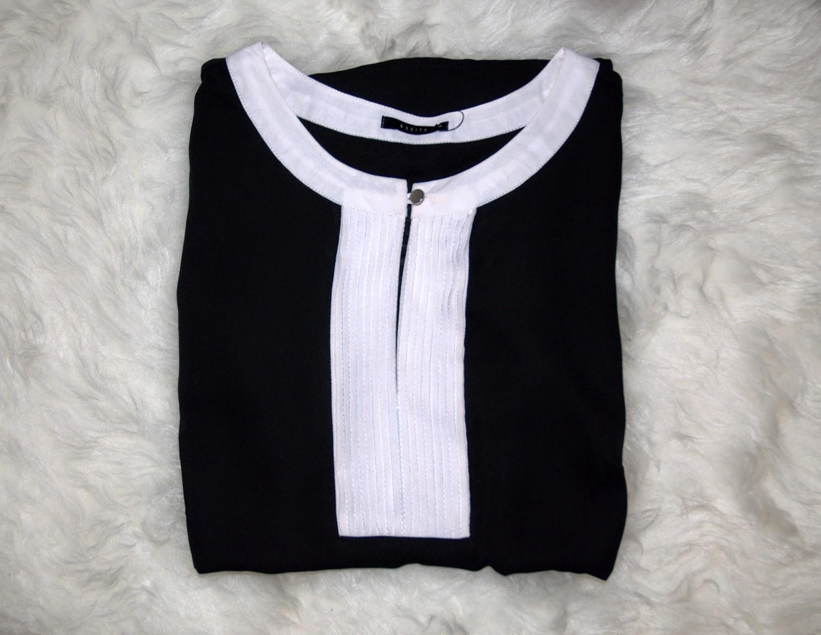 czarna koszula z mohito