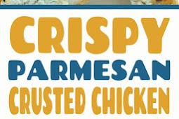Crispy Parmesan Crusted Chicken Recipe #DietFoodRecipes #parmesan #chicken #crustedchicken #chickenbreast