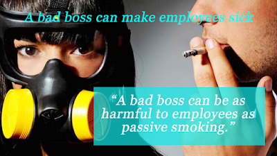 bad boss can make employees sick