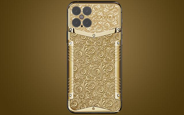 شاهد بالصور.. هواتف آيفون 12 مصنوعة من الذهب الخالص