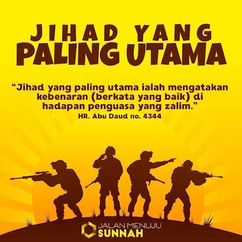 Kata kata tentang jihad dengan kejujuran