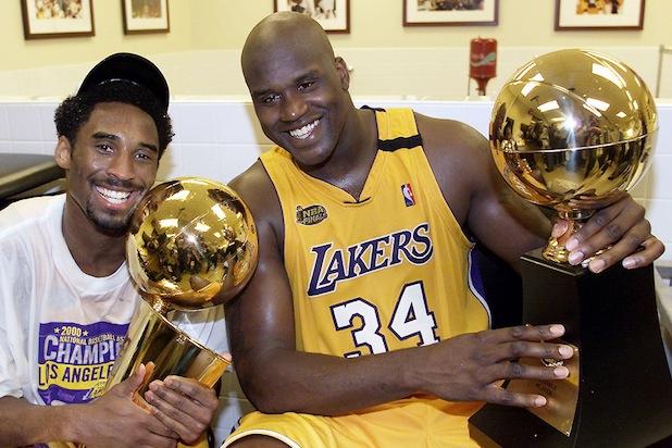 Kobe Bryant et Shaquille O'Neal