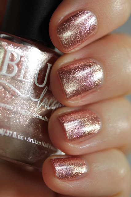 BLUSH Lacquers Flirtation swatch by Streets Ahead Style