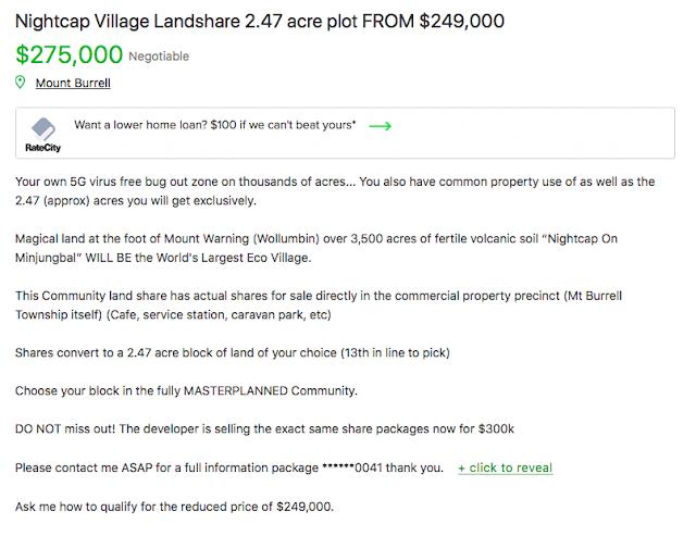Mikala Lowe Nightcap Village marketing