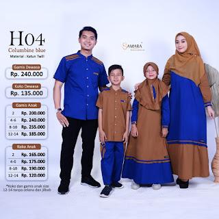 Koleksi terbaru Sarimbit Keluarga SAMARA H 04