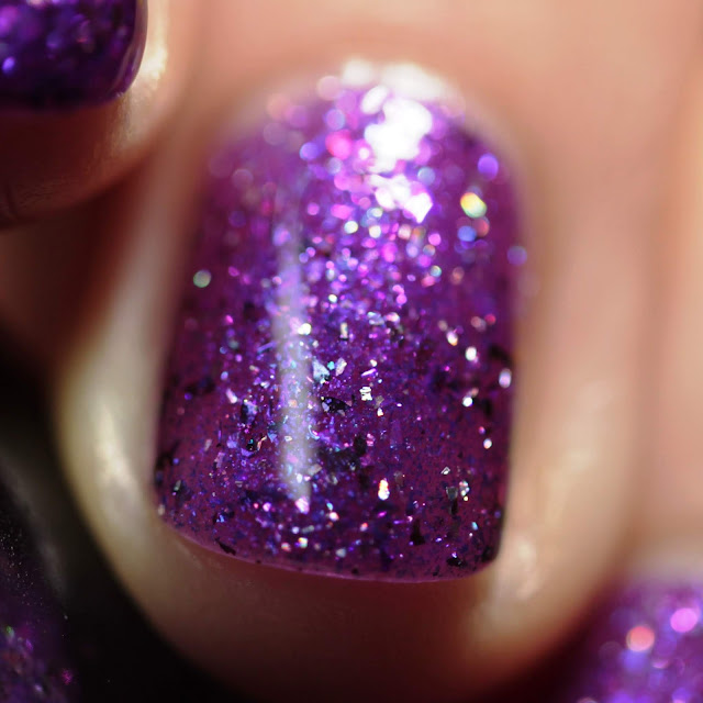 Paint It Pretty Polish Purple Amethyst swatch by Streets Ahead Style