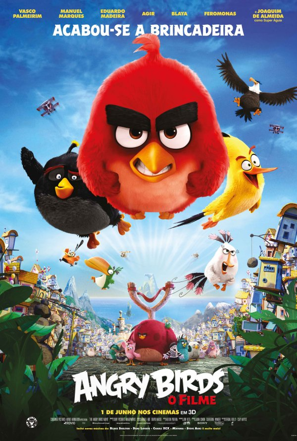 Angry Birds: O Filme – HD 720p