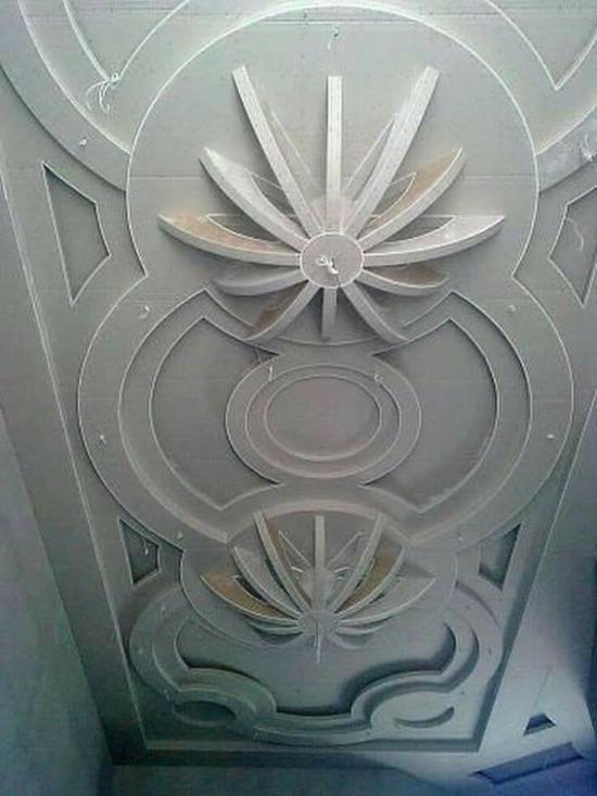 model plafon gypsum