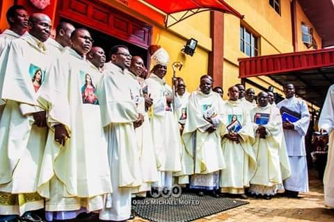 Transfer Of Priests Take Effect From Today, 30th November, 2018