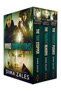 Mind Dimensions Box Set - thrilling urban fantasy by Dima Zales