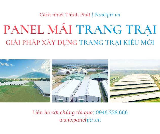 panel mái trang trại