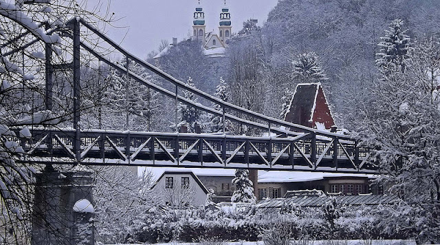 A snowy winter day in Passau, Germany. Photo: MrThinkTank.