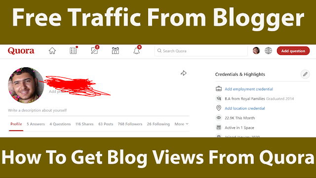 How To Get Blog Views From Quora In 2021 King Bloggers