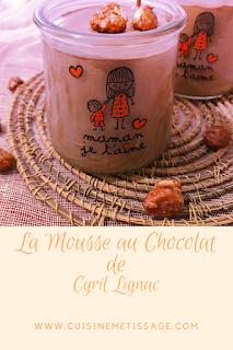 mousse au chocolat cyril lignac