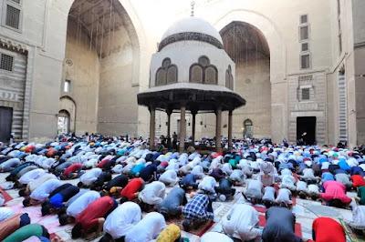 صلاة عيد الأضحى المبارك 2021 في المساجد وفق الاجراءات المتبعة للسلامة