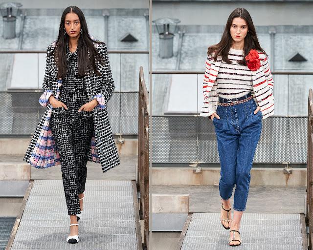 Chanel показ моды весна-лето 2020 1