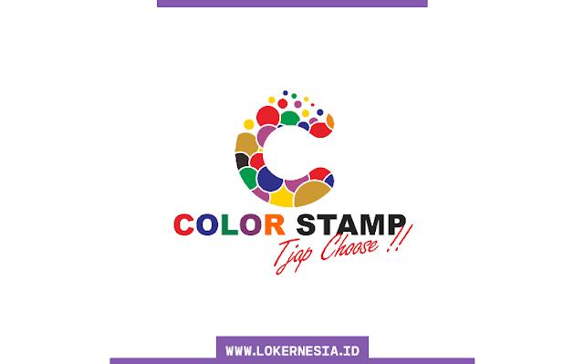 Lowongan Kerja Colorstamp Bandung November 2020