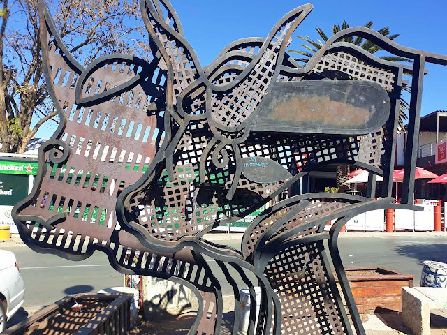 Soweto street art / sculpture