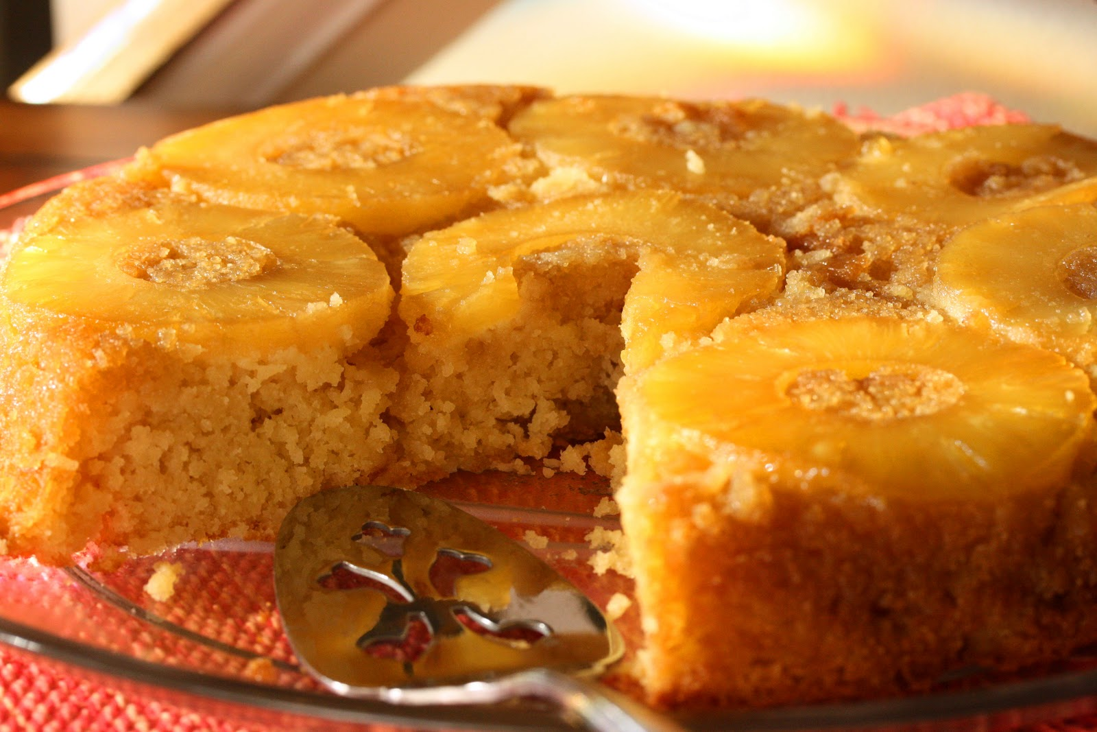Pineapple Upside Down Cake Gluten Free