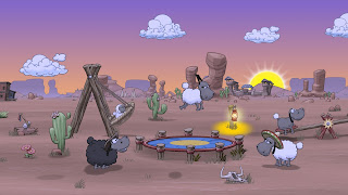 Clouds and Sheep 2 PS Vita Wallpaper