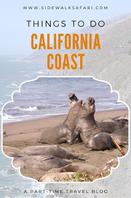Things to do along the California Coast
