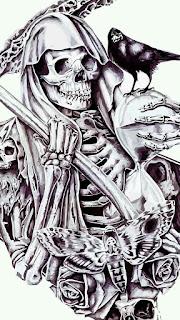 Gambar Wallpaper Tengkorak Keren