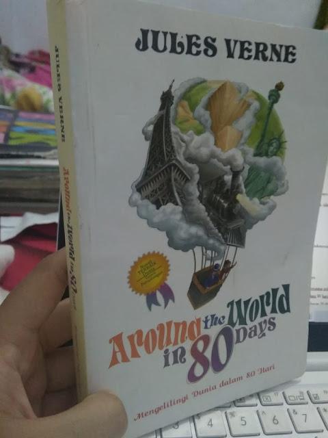 Cover Novel Around the World in 80 Days terbaru