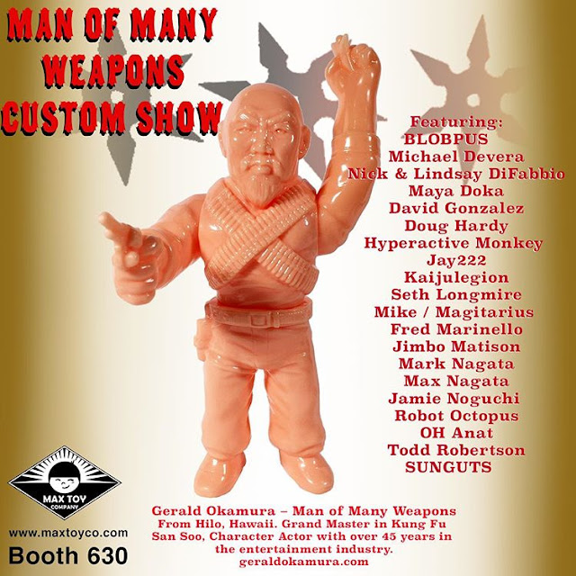 Mark Nagata - Man of Many Weapons