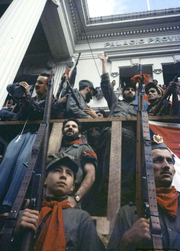 Cuban Revolution in Color Photos January 1959  vintage