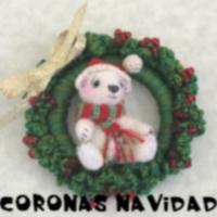 http://patronesamigurumis.blogspot.com/2017/12/coronas-de-navidad.html