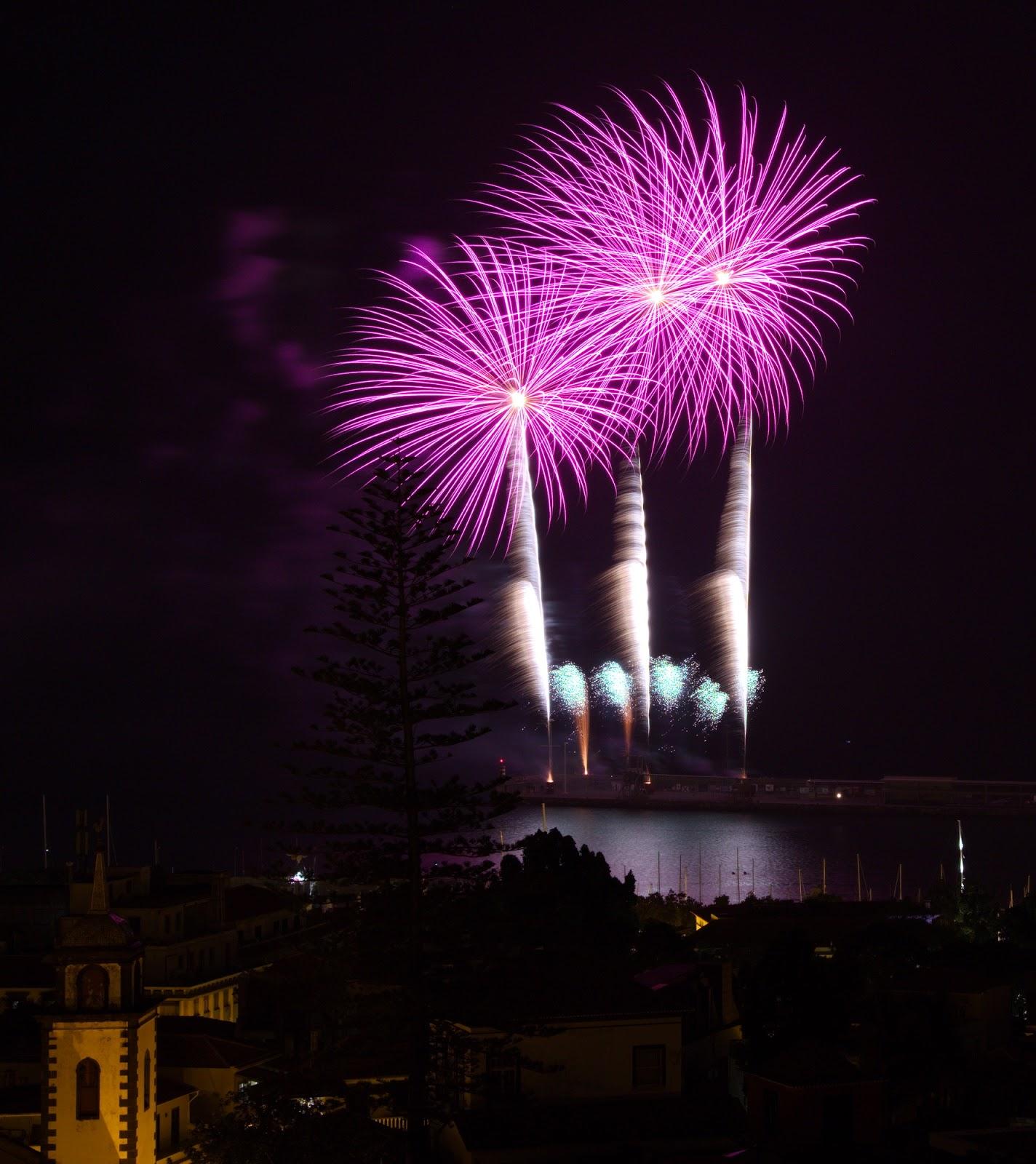México iluminou o Funchal sábado à noite