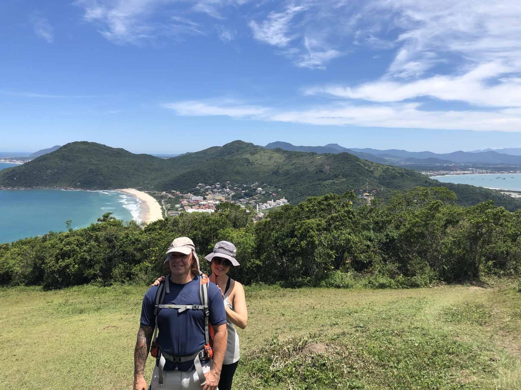 Vista da Praia Brava