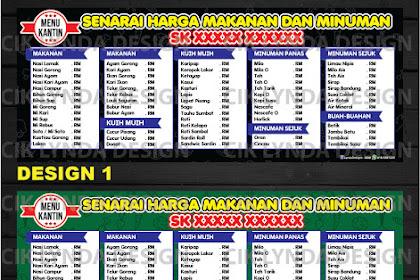 15+ Best New Banner Menu Kantin Sekolah
