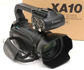 HD Camcoder Canon XA10