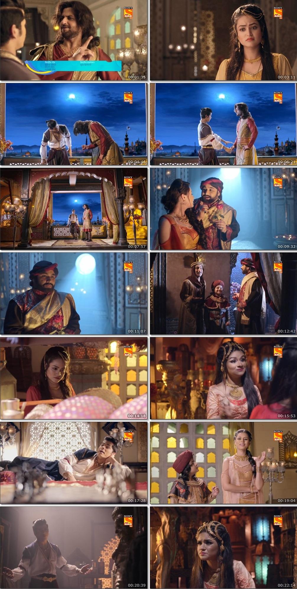 Screenshots Of Hindi Show Aladdin – Naam Toh Suna Hoga 2019 Episode 248 300MB 720P HD
