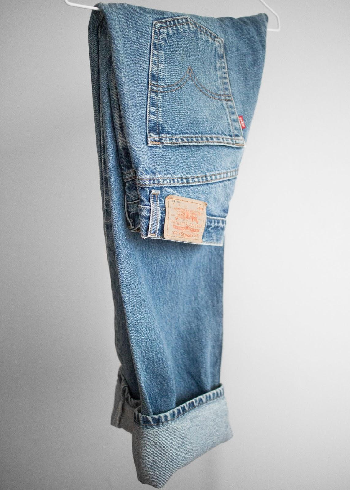 New in my wardrobe - Elizabeth and James bag / Vintage Levi's 569 / Vans old skool