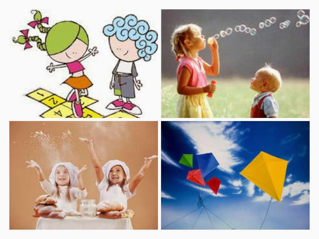 Brincadeiras fáceis para divertir as crianças nas férias