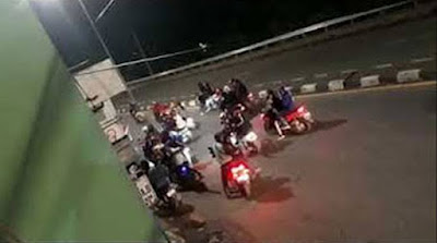 Keluarga begal dan geng motor balas dendam