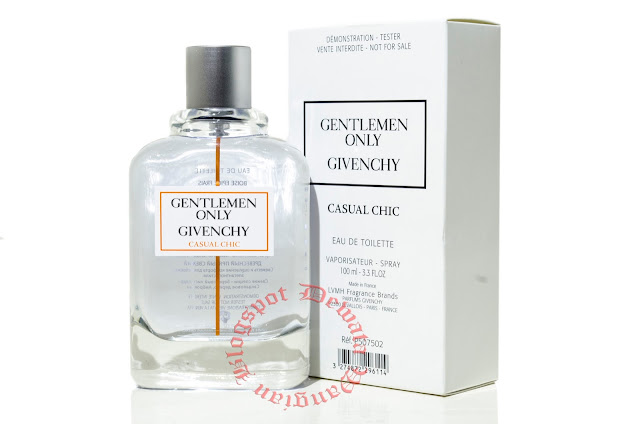Givenchy Gentlemen Only Casual Chic Tester Perfume