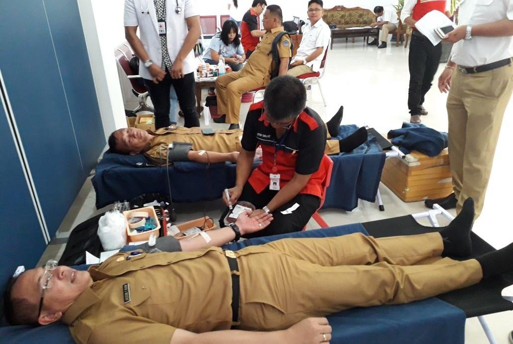 Hari ini DPRD Sulut Berdarah, 32 Pendonor