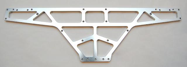Tamiya TXT-1 aluminum chassis
