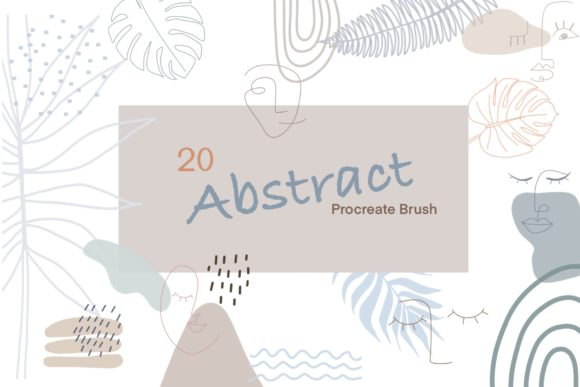 20 Abstract Procreate BrushesStamp-Brush 5921963