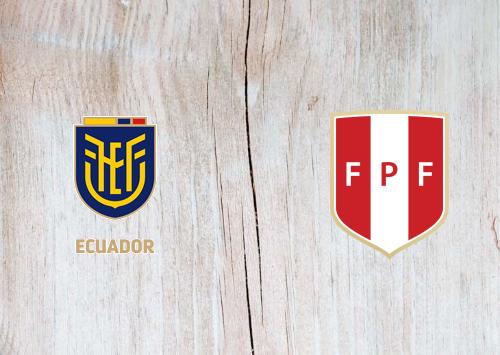 Ecuador vs Peru -Highlights 08 June 2021