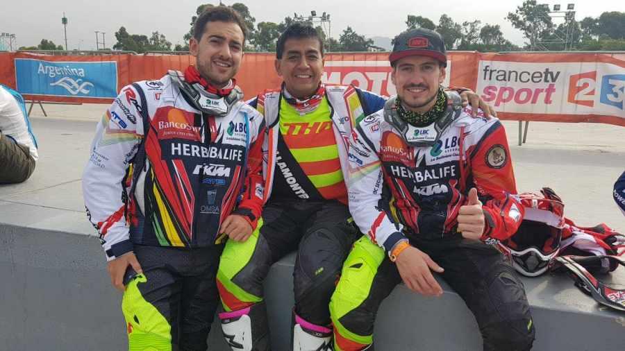 Resultado de imagen para Noveno lugar para Wálter Nosiglia en la segunda etapa del Dakar que se corre en Perú