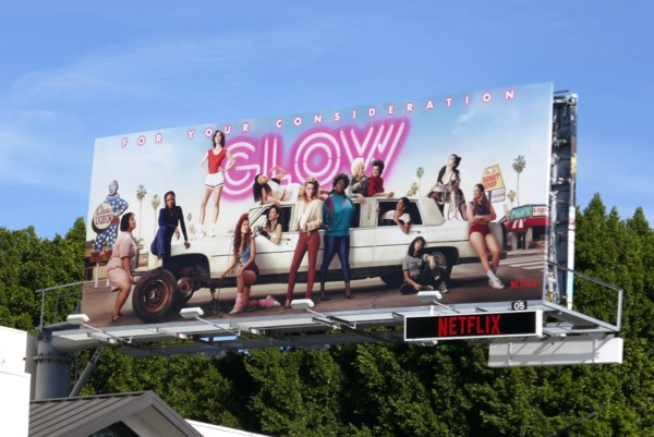 GLOW season 2 FYC billboard