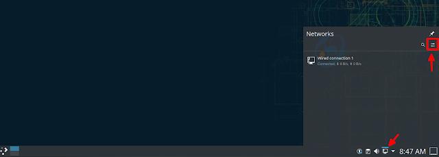 إعدادات الشبكة لسطح المكتب KDE Plasma