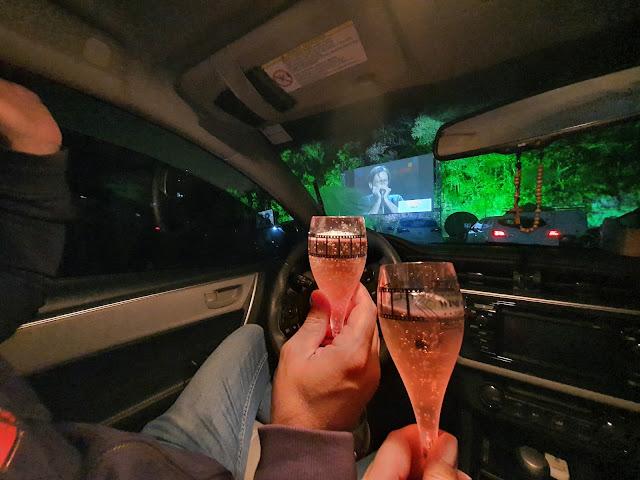 Wine Movie Drive-in Peterlongo