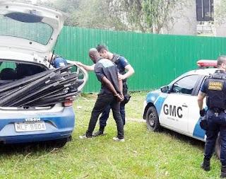 Frequentes furtos de alumínio alertam a Guarda Municipal de Criciúma (SC)