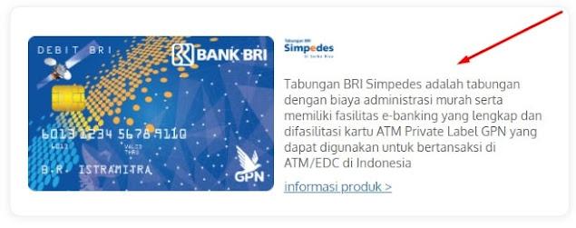 Langkah 3 Buka Rekening BRI Simpedes Online